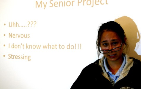 I'm working on it: Presentation paralysis