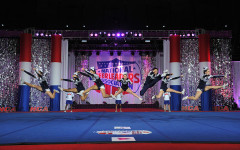 Cheerleaders pull off 'trifecta'; take league, state, national titles
