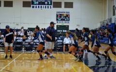 Warriors warm up for senior-less season; win vs Castle