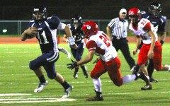 Lunas sweep past Warriors at homecoming game