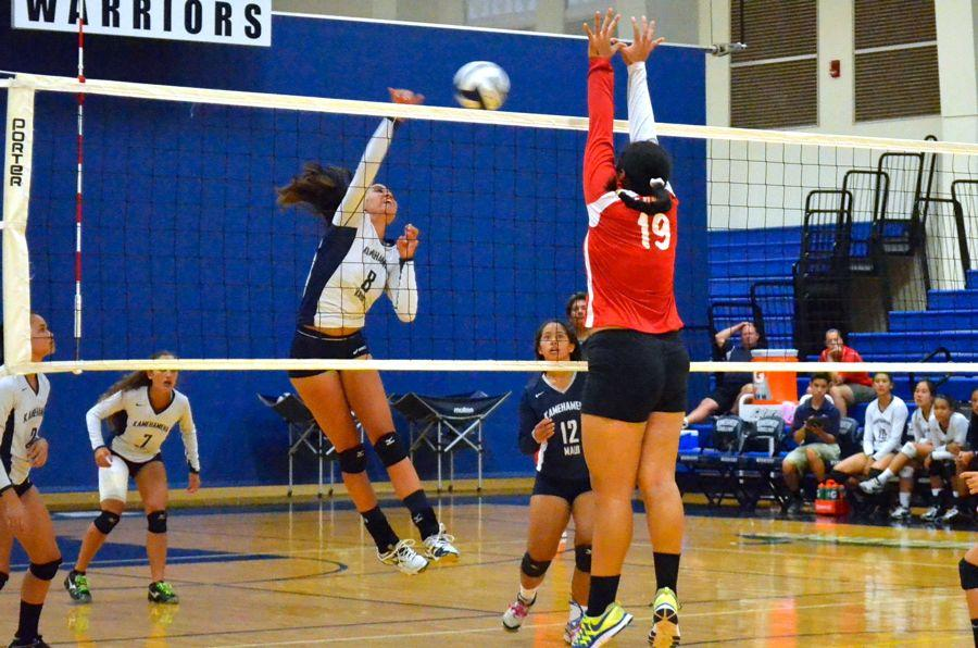 Girls volleyball takes first games vs Lāhaina, Maui