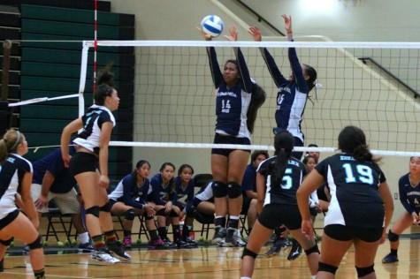 Nā Ali'i win in girls volleyball, 3-0