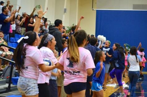 Girls volleyball breaks Nā Aliʻi win streak