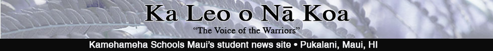 The student news site of Kamehameha Schools Maui