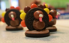 How to: Oreo Reese's cookie turkeys