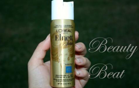 Beauty Beat: Elnett Satin hairspray
