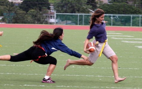 Powder puff game showcases female athletes