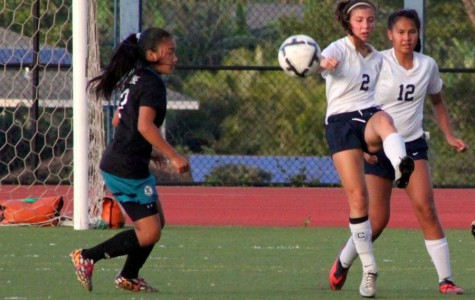 Girls soccer plays shut out against King Kekaulike