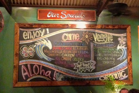 Flatbread Company makes the most creative pizzas and most eye-catching menus!