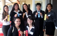 Eight place at HOSA district competition