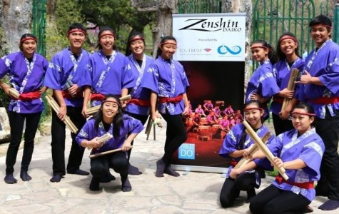 Maui Zenshin Daiko performs in Texas for good cause