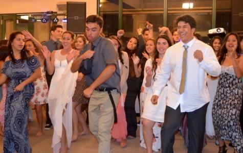 Seniors embrace theme at last formal
