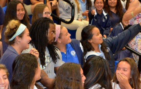 Legion of Boom speaks to Kamehameha students