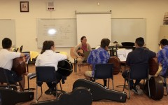 Guitar class broadens music program
