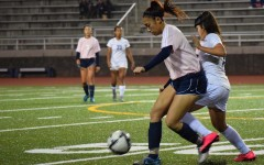 Girls soccer has good senior night, pulls into first place tie