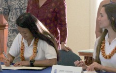 Ikioka, Williams sign Letters of Intent
