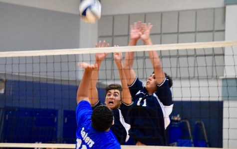 JV boys volleyball finishes in first