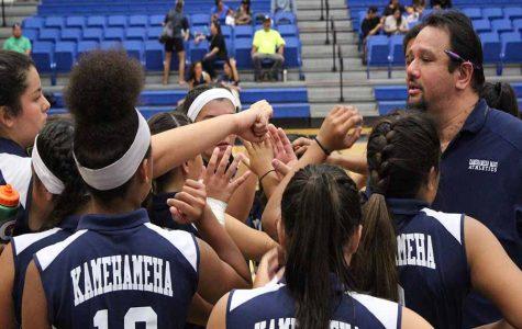 JV Warriors trump Lunas in volleyball