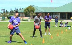 Juniors throw, catch, dodge for first place