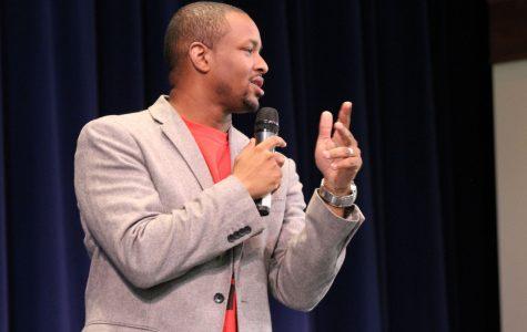 Laymon Hicks draws on hardships to motivate students