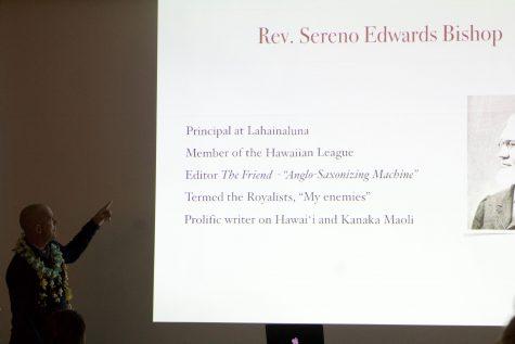 Ronald Williams Jr. explains who reverend Bishop is.