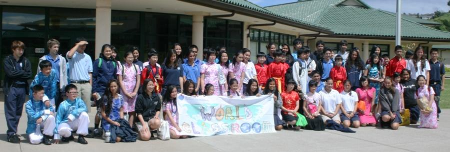 East meets West: Yew Chung School visits
