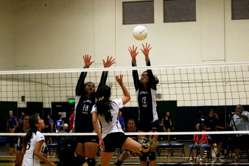 Girls Volleyball KSM Vs. HBA