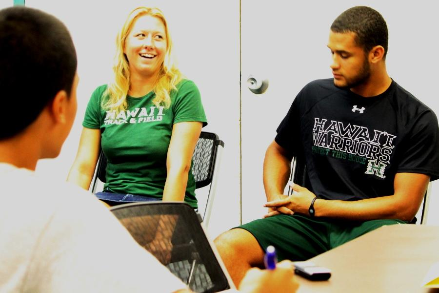 UH athletes advise on transition to college athletics