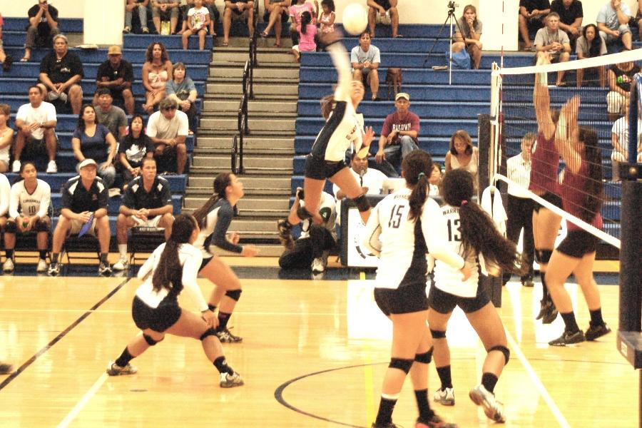 Two more wins for varsity girls volleyball; Baldwin, Lahaina