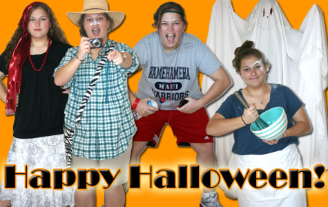 Last-minute Halloween fun: 5 costumes, 5 minutes