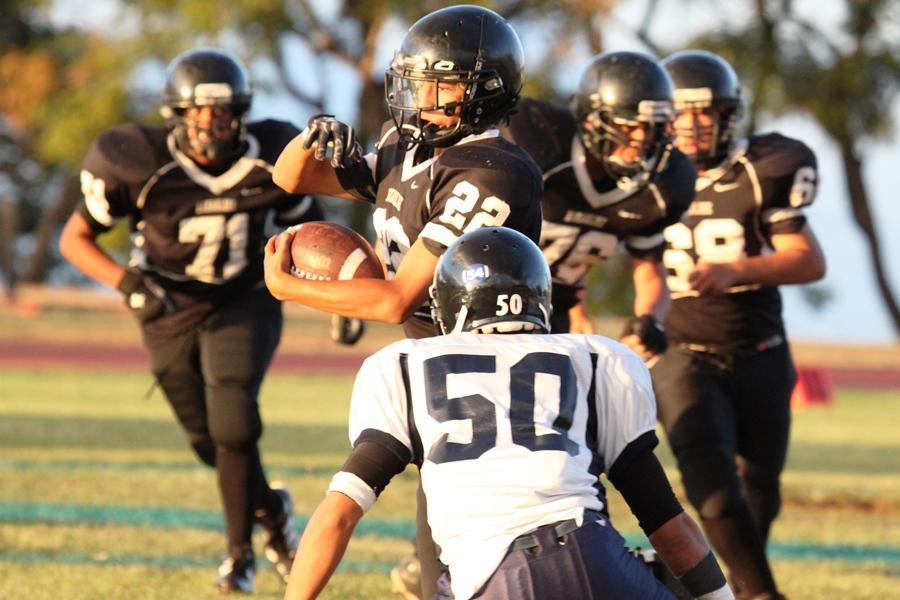 JV football loses to Nā Ali'i in closest of clashes