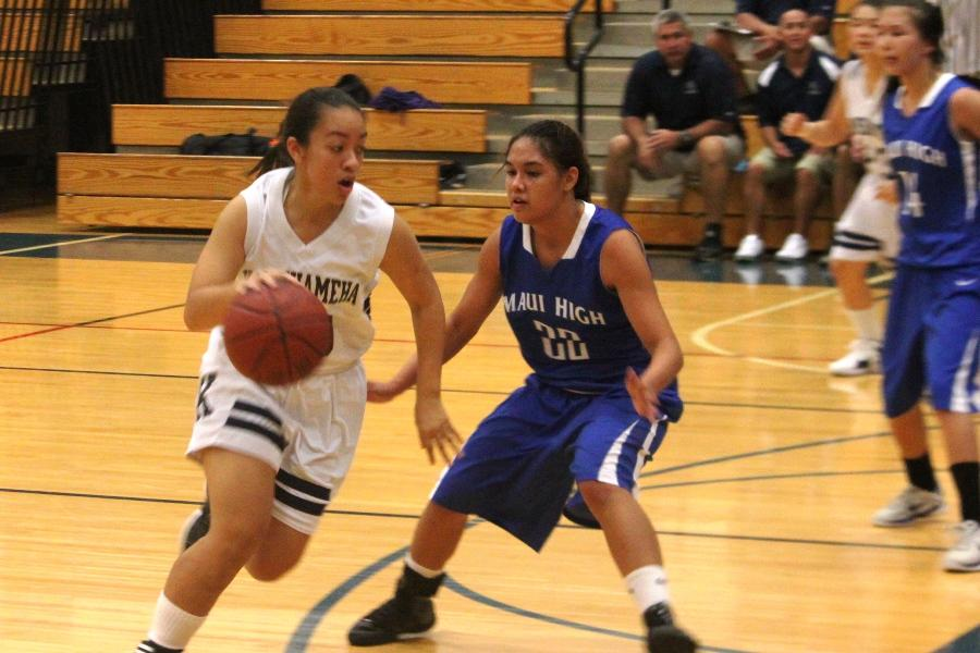 Lady Warrior basketball opens with loss to Sabers