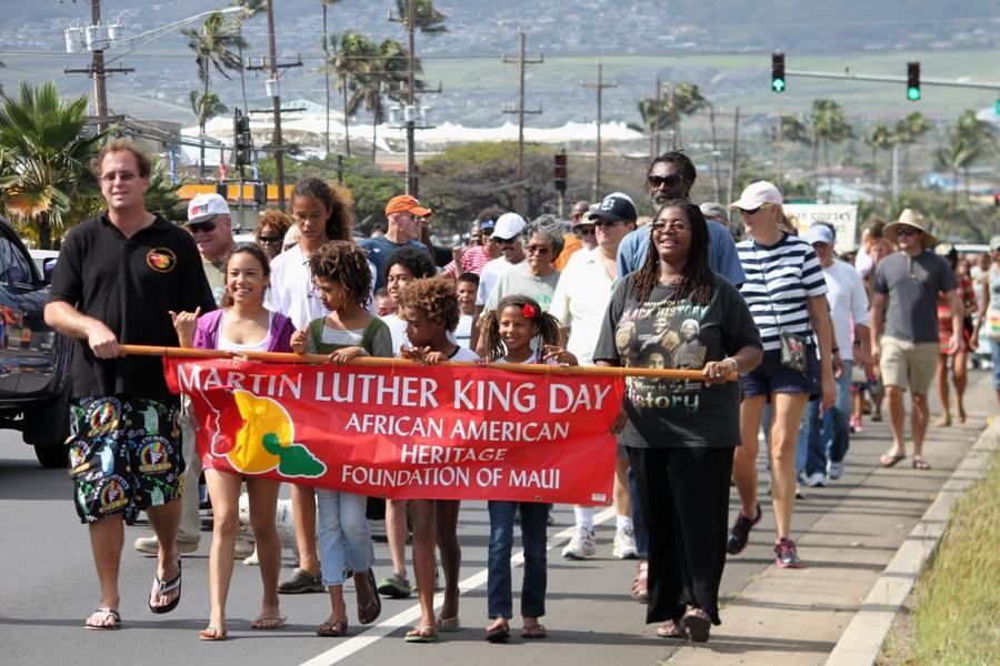 Maui+community+celebrates+Dr.+Martin+Luther+King%2C+Jr.