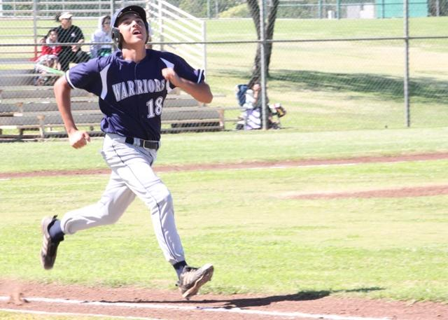 JV boys baseball Warriors upset Lunas