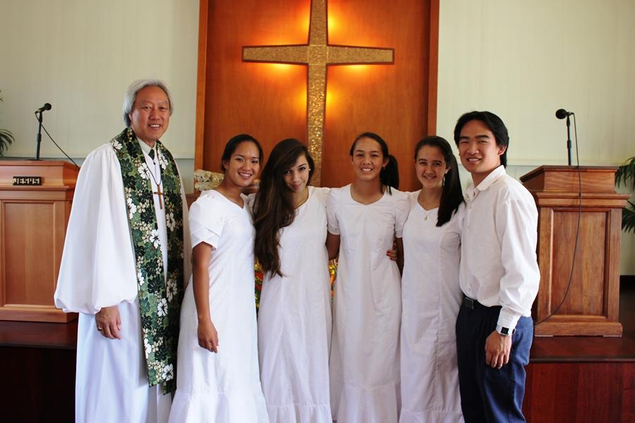 Deputation Team leads worship at Lahuiokalani-Ka`anapali