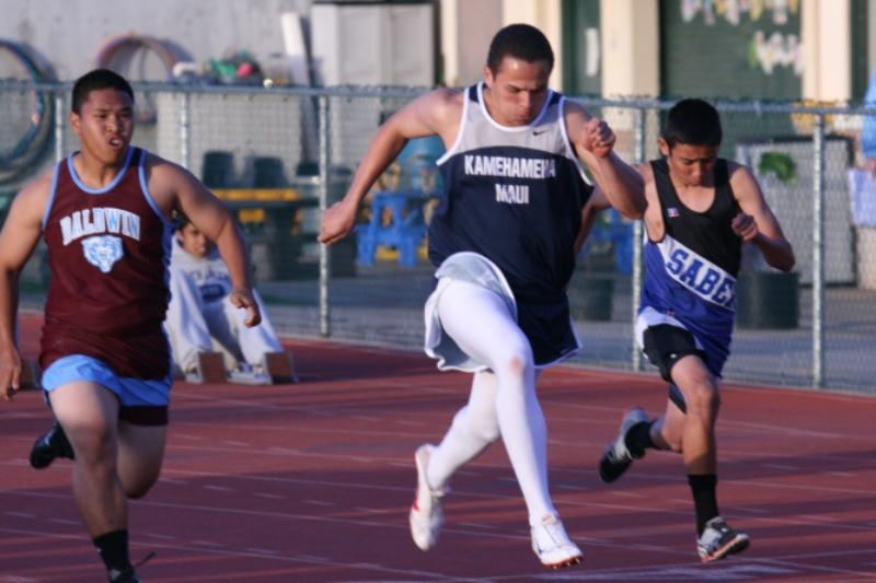 Kamehameha Upcountry Track Relays blow into town