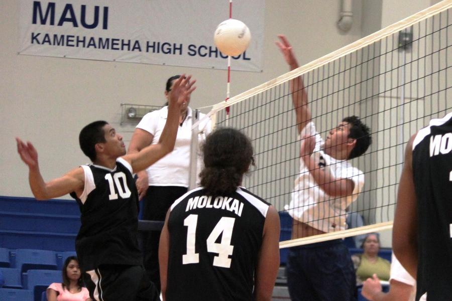 KSM Warriors boys volleyball loses to Moloka'i Farmers
