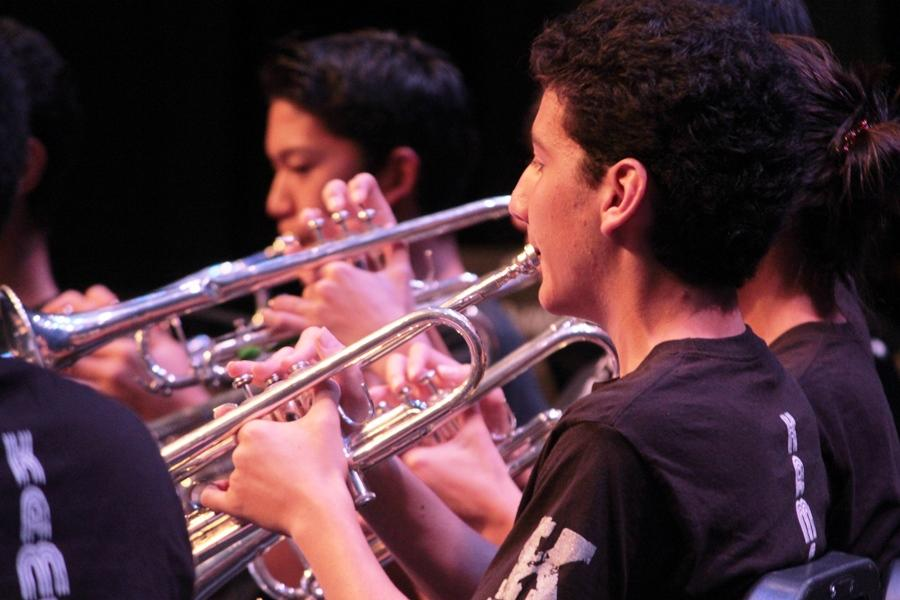 Middle, High school bands play to one beat