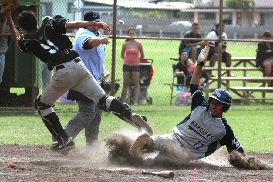 Maui Warrior baseball takes close win vs. Nā Aliʻi