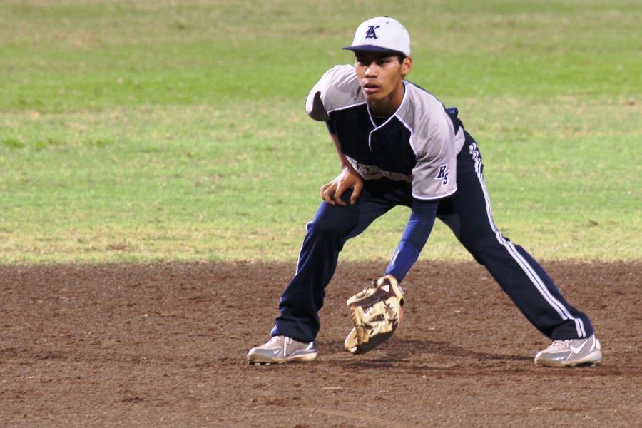 KS Maui baseball boys score first win of the season
