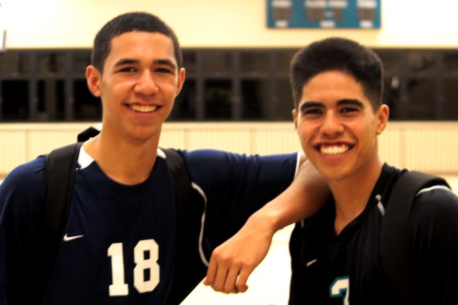 Aikala brothers face off on Kekaulike volleyball court