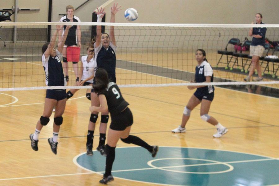 JV girls volleyball Warriors ace match against Nā Aliʻi