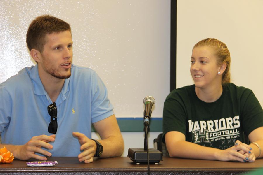 UH athletes share different college advice, same team spirit