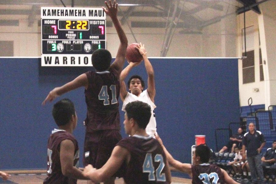 JV boys quench thirst for victory against Baldwin