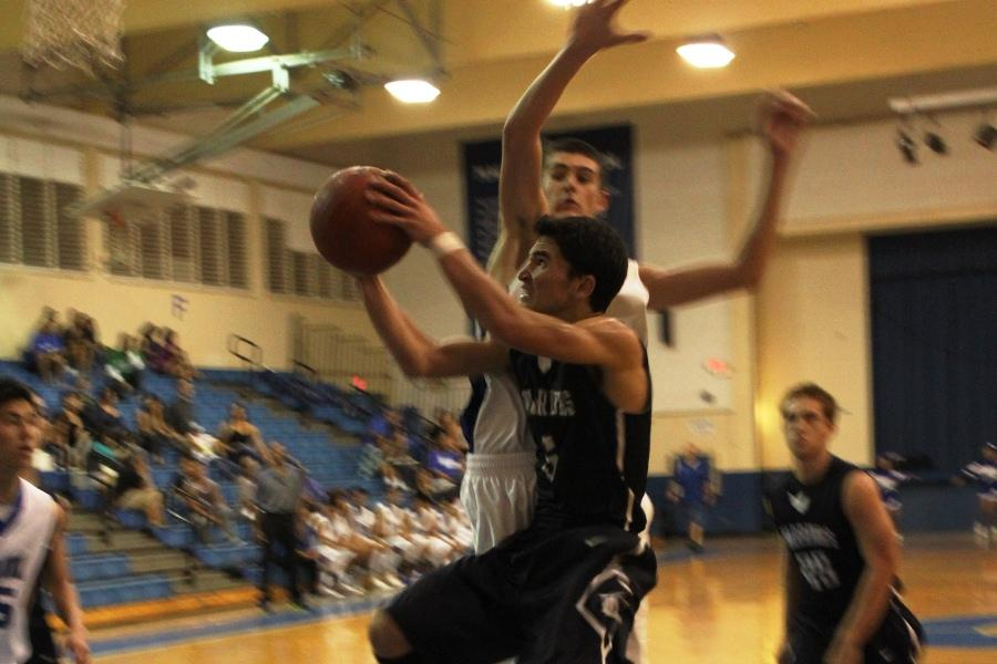 Basketball Warriors post first season win against Sabers