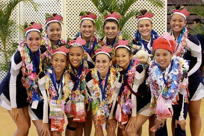 The Maui Warriors won the MIL title for the third year in a row today, Nov. 2, at Baldwin High School.