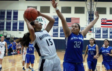 Maui High girls basketball fights for first win
