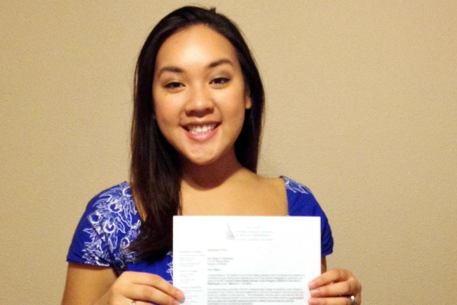 Megan+Batangan+received+an+acceptance+letter+to+be+one+of+two+students+from+Hawai%60i+to+attend+the+annual+United+States+Senate+Youth+Program+from+March+8-15%2C+2014.