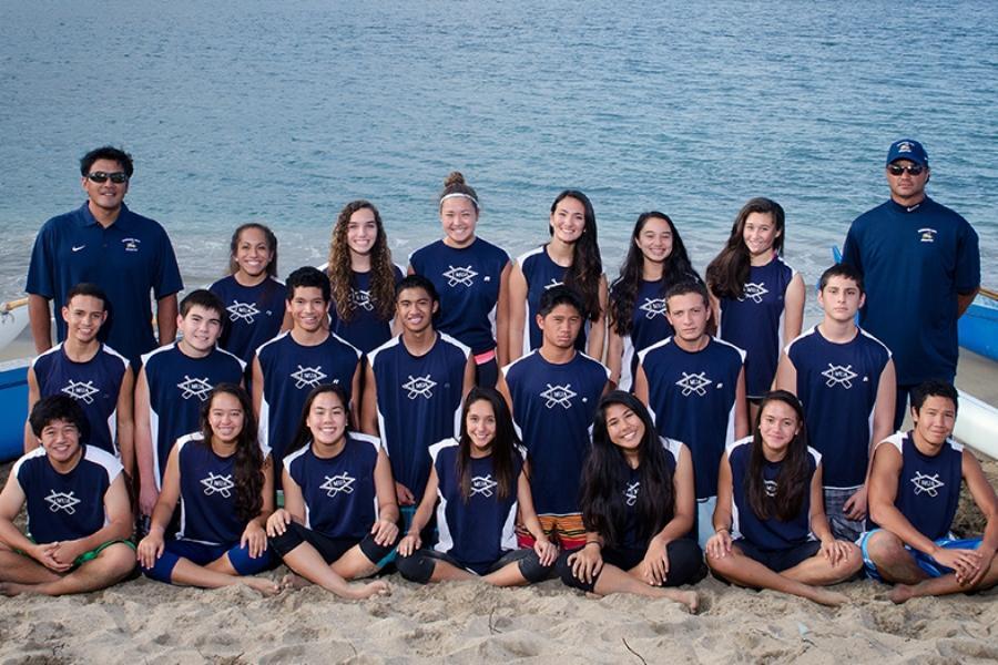 JV Paddling Team Photo 2013-2014