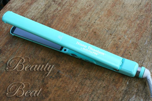 The Babyliss Pro Nano Titanium flat iron gets 5 stars for taming coarse hair quickly.
